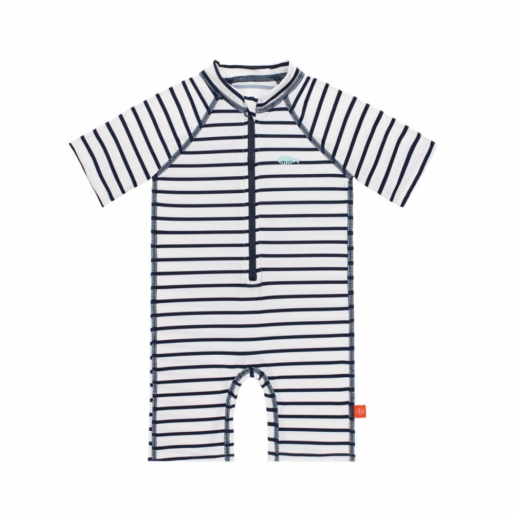 Lässig UV-puku, Striped Navy, 18 kk