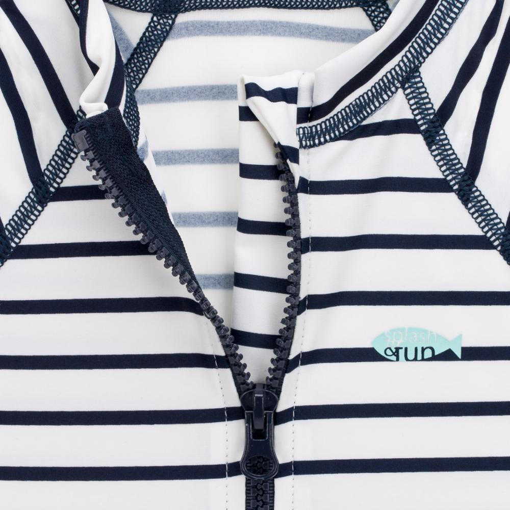 Lässig UV-puku, Striped Navy, 6 kk