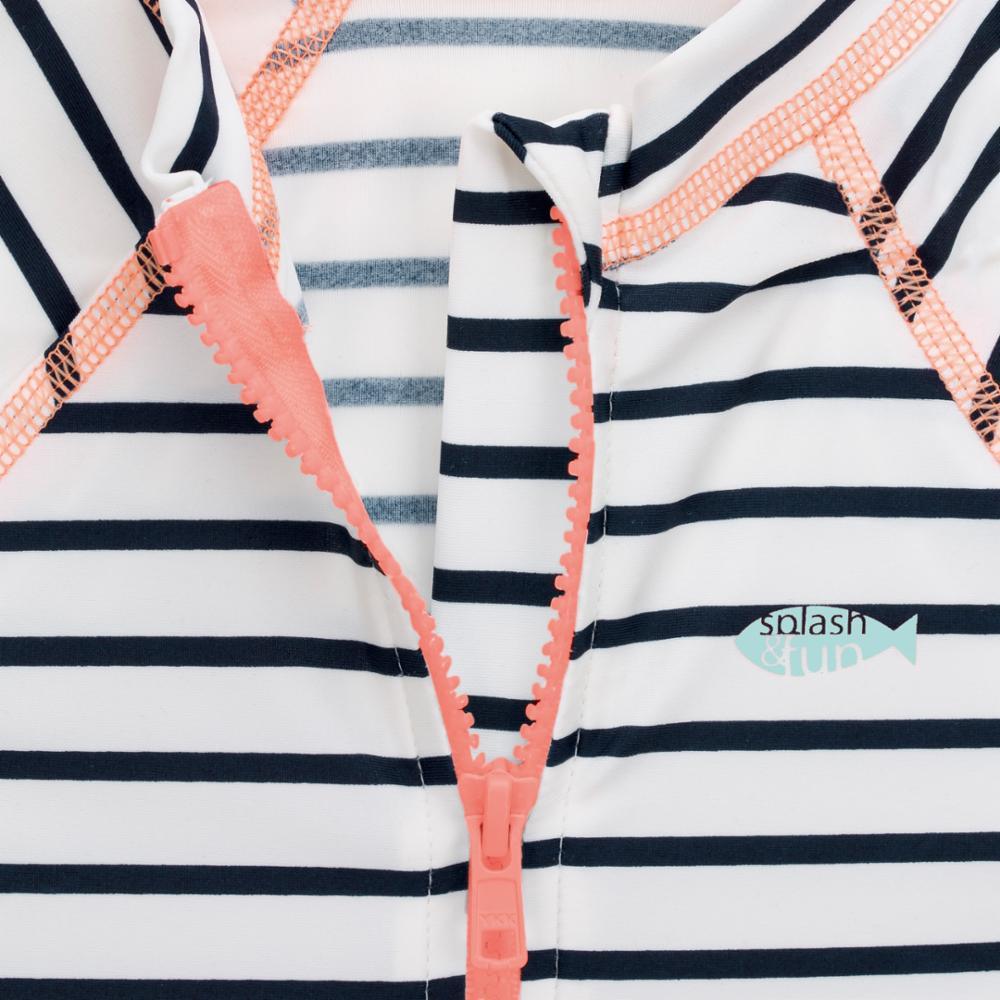 Lässig UV-puku, Striped Girls, 6 kk