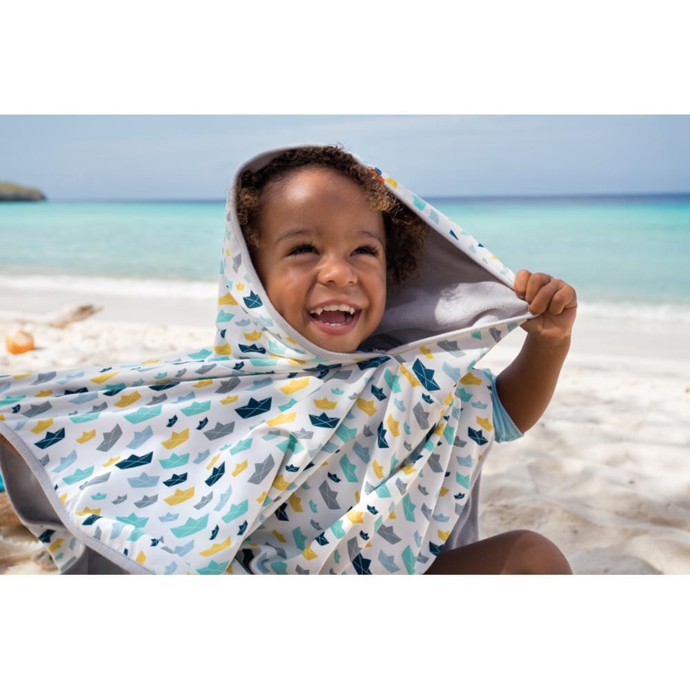 Lässig Beach Poncho, Paper Boat, 12-36kk