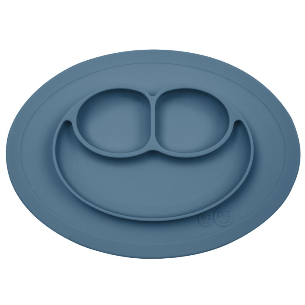 ezpz Mini Mat lasten kulho + ruokailualusta, Indigo