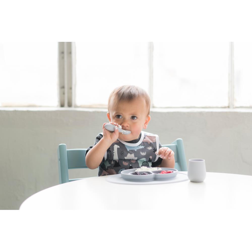 ezpz Tiny Spoons Ensilusikka 2kpl, Gray