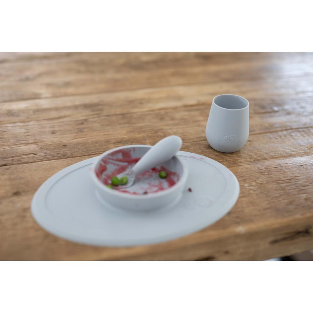 ezpz First Foods Set lasten astiasto, Gray