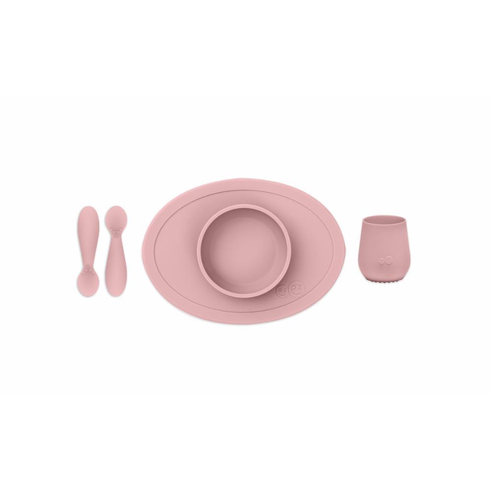 ezpz First Foods Set lasten astiasto, Blush