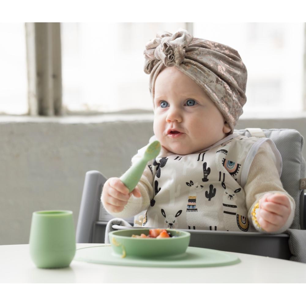 ezpz First Food Set, Sage