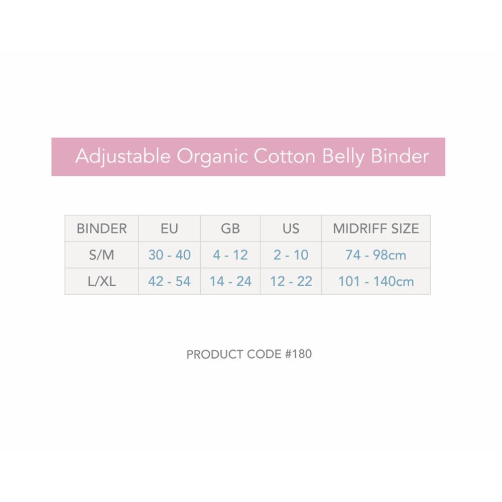 Carriwell Belly Binder-tukivyö, S/M, Musta