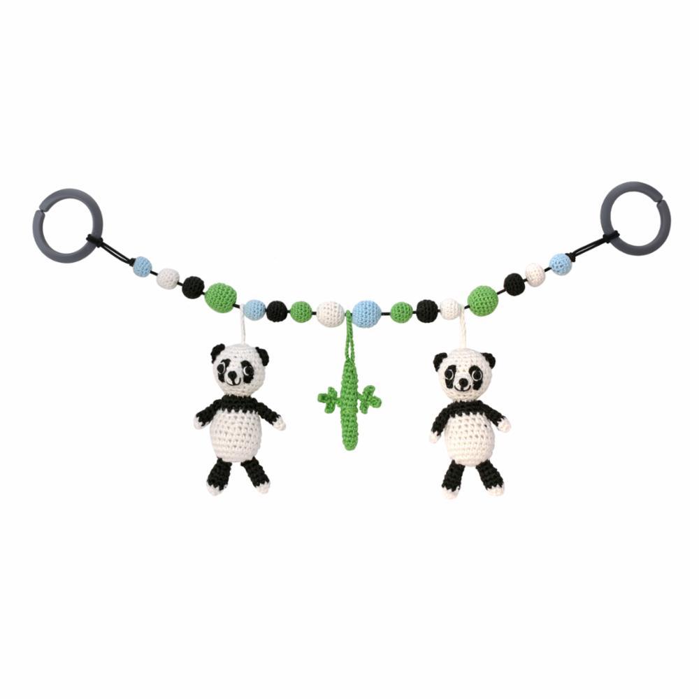 Sindibaba Virkattu Vaunulelu, Panda