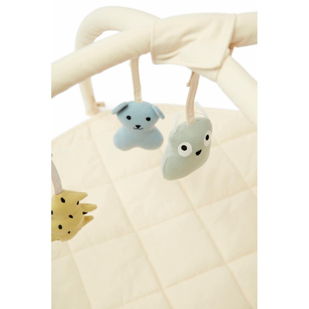 Kids Concept Babygymi tekstiili off white