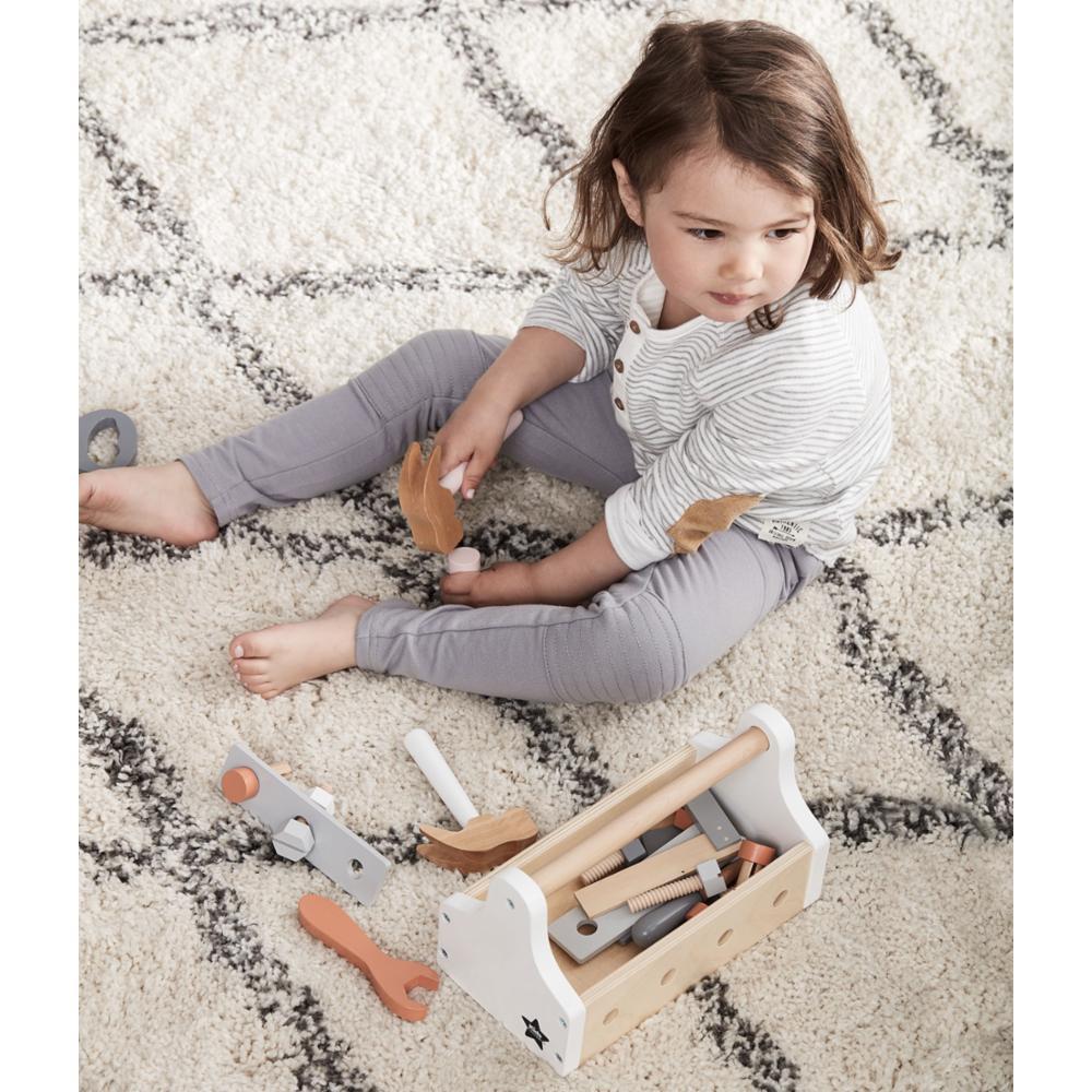 Kids Concept Työkalulaatikko Puu, Star Natural