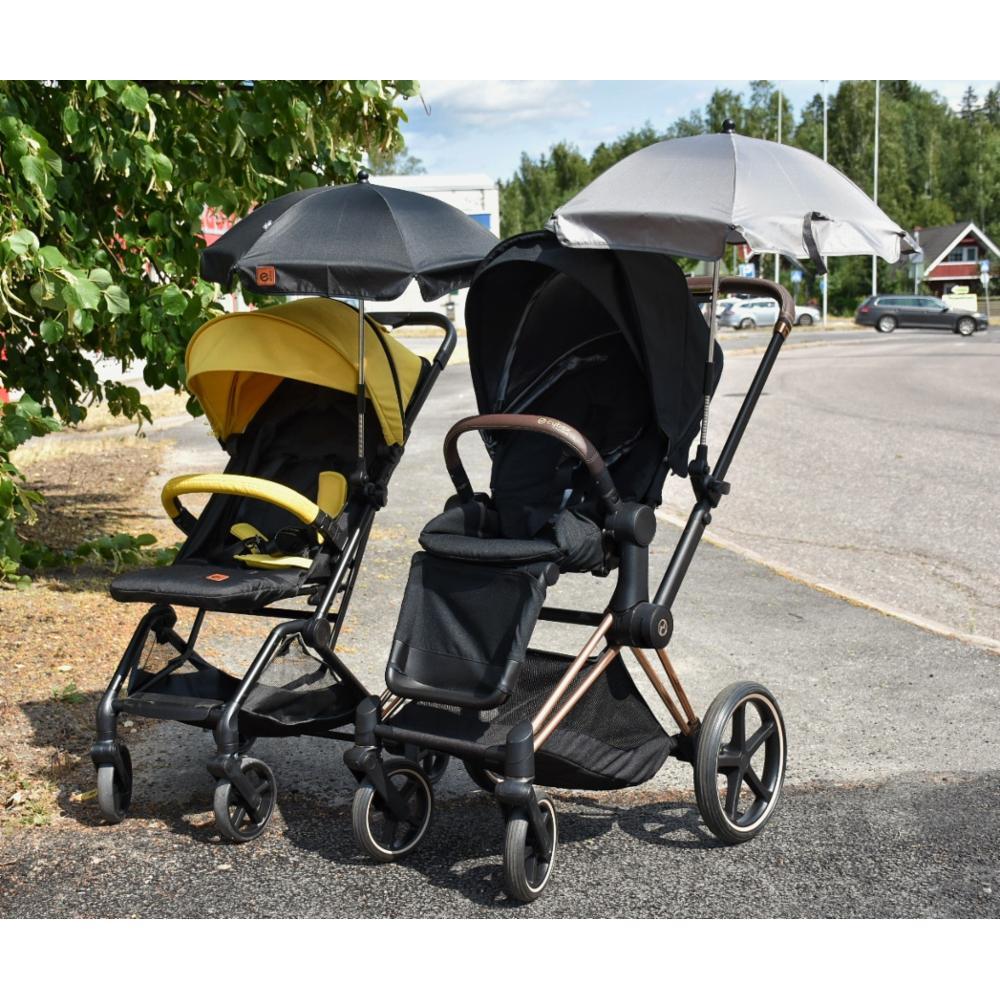 Emma Aurinkovarjo UV50+, Harmaa
