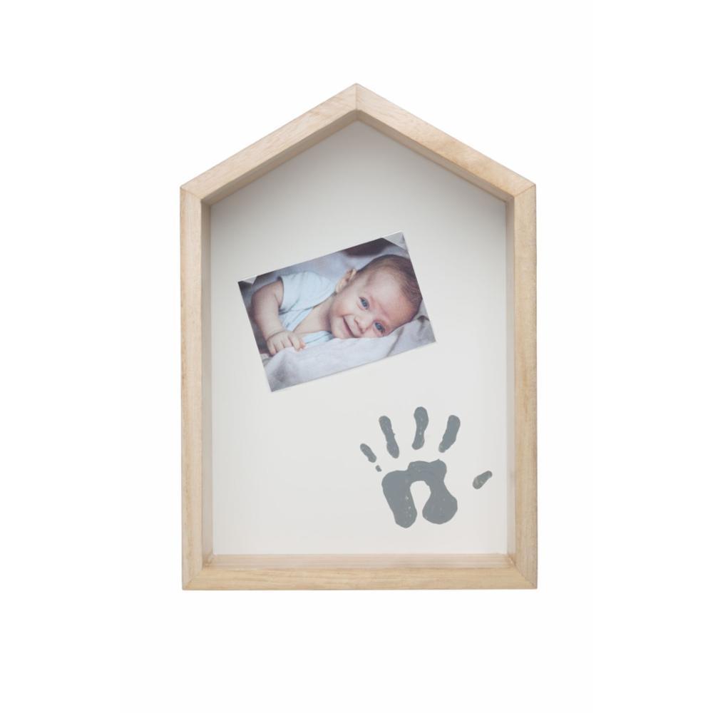 Baby Art Shelf House Vauvan kädenjälki & valokuvakehys