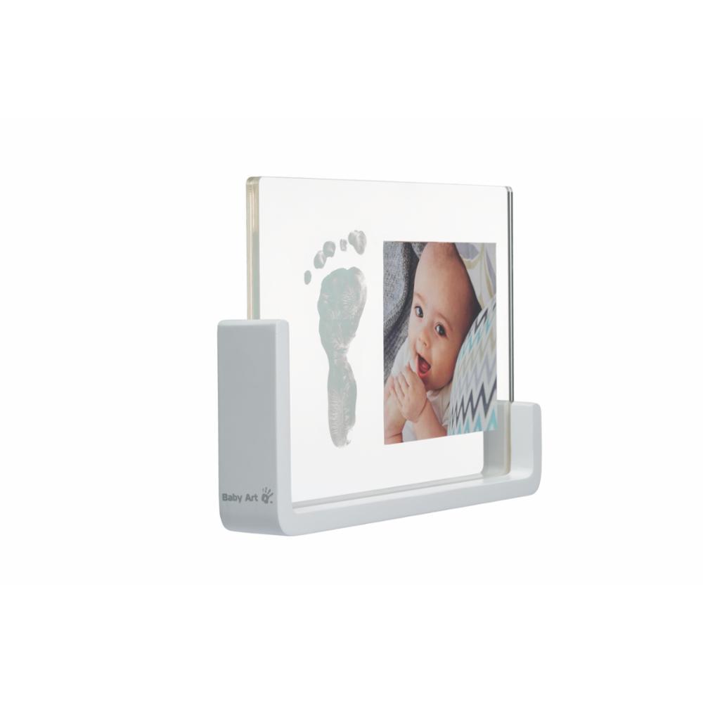 Baby Art Transparent Frame Vauvan jalanjälki & valokuvakehys