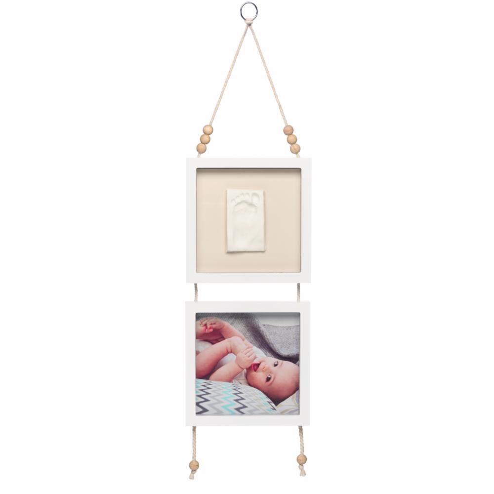 Baby Art Hanging Frame Vauvan jalanjälki & valokuvakehys