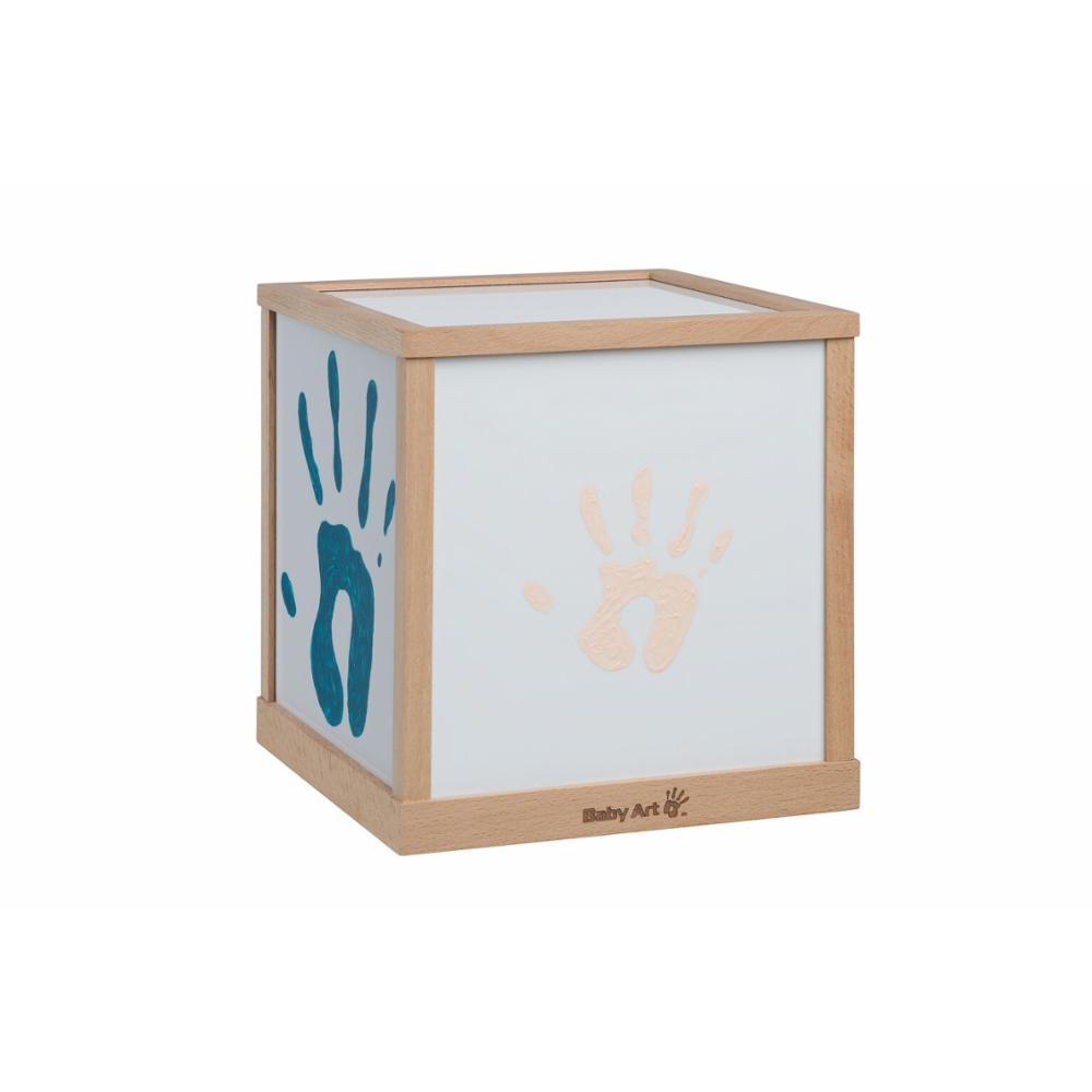 Baby Art Family Light vauvan kädenjäljet kuutiolamppu
