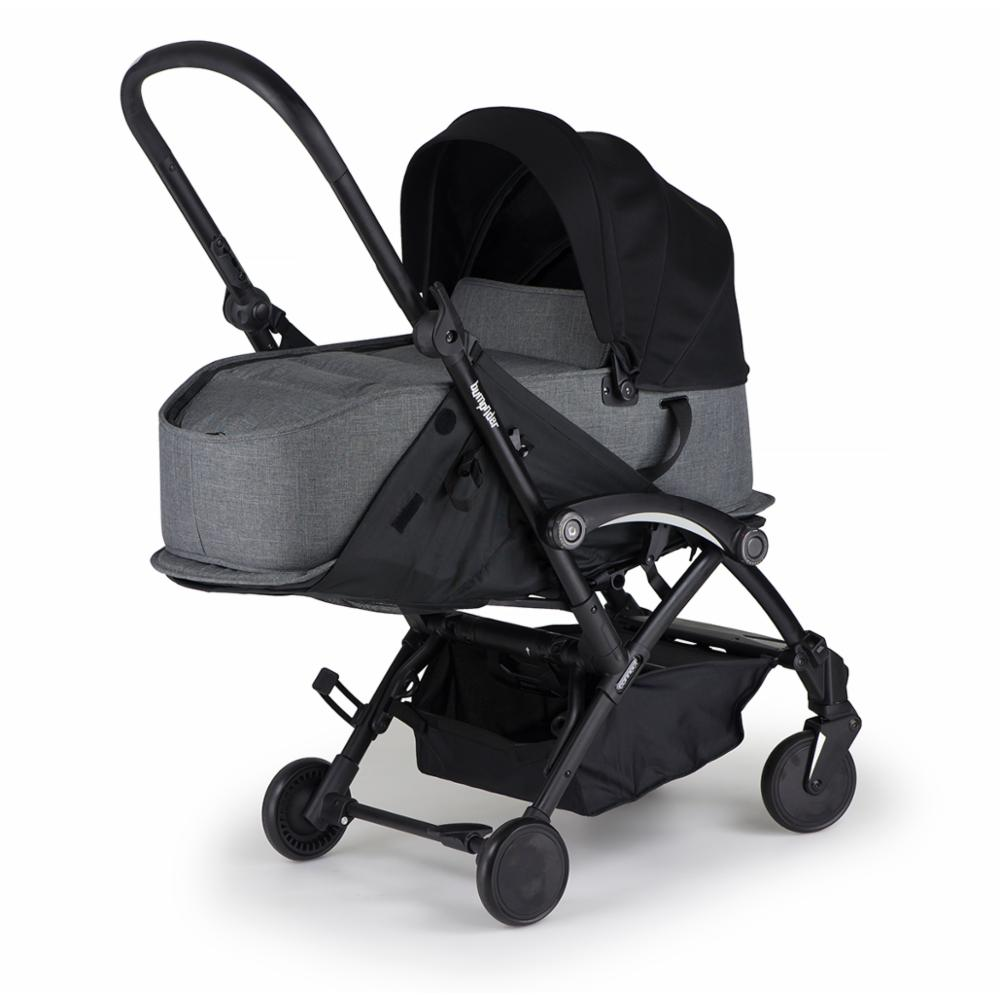 Matkarattaat Bumprider Connect, Black-Grey