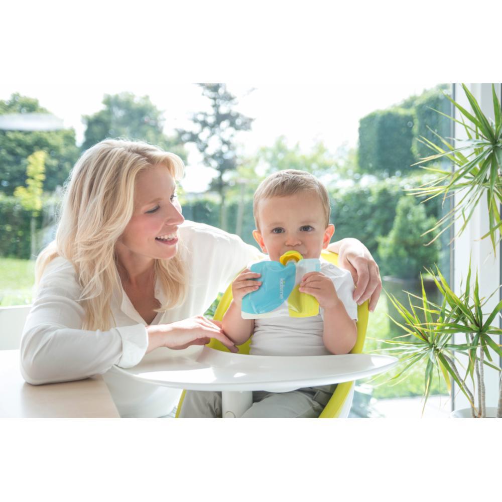 Kidsme Täytettävä Ruokapussi ja Ad, Lime