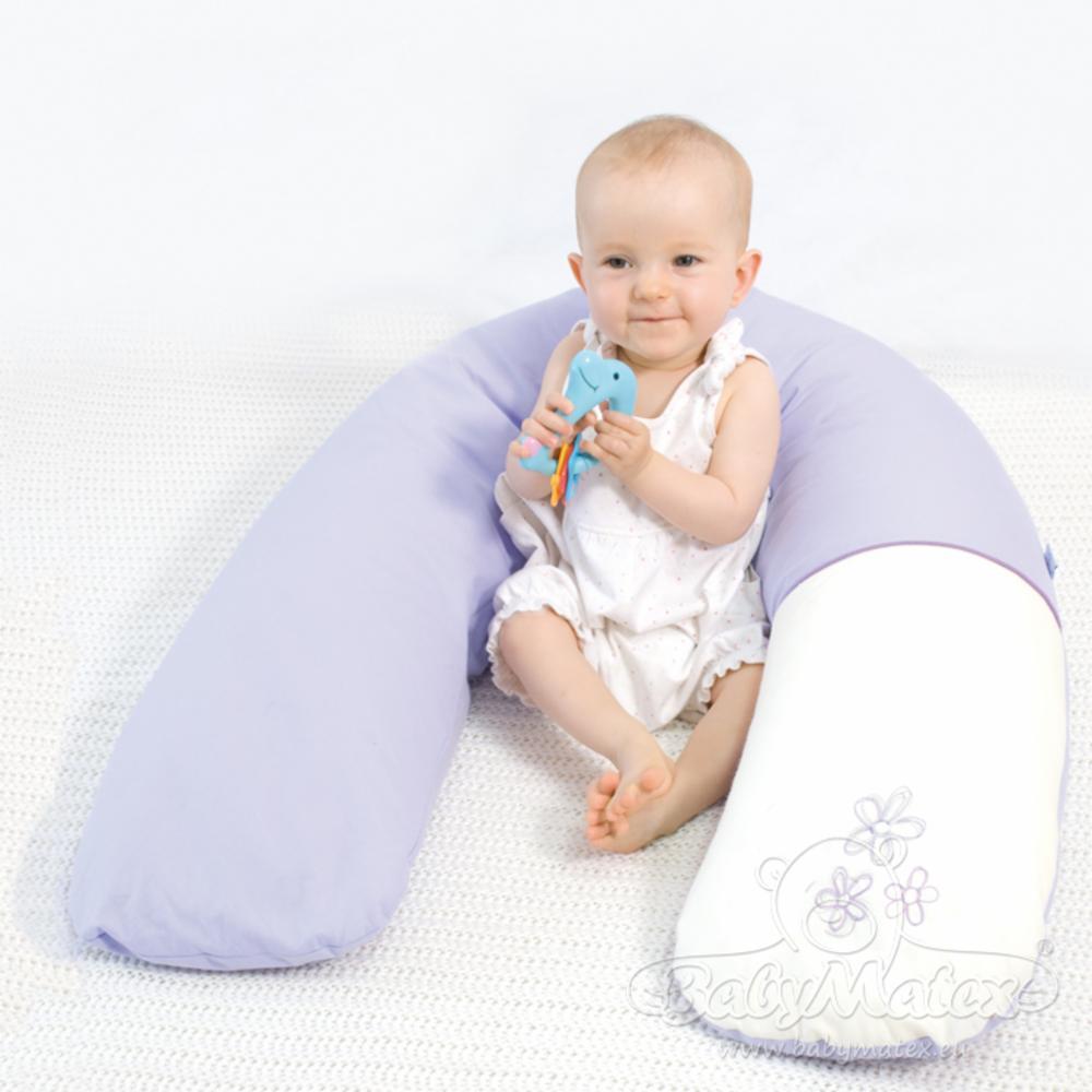 BabyMatex Relax Tuki/Imetystyyny 190cm, Vaaleanharmaa