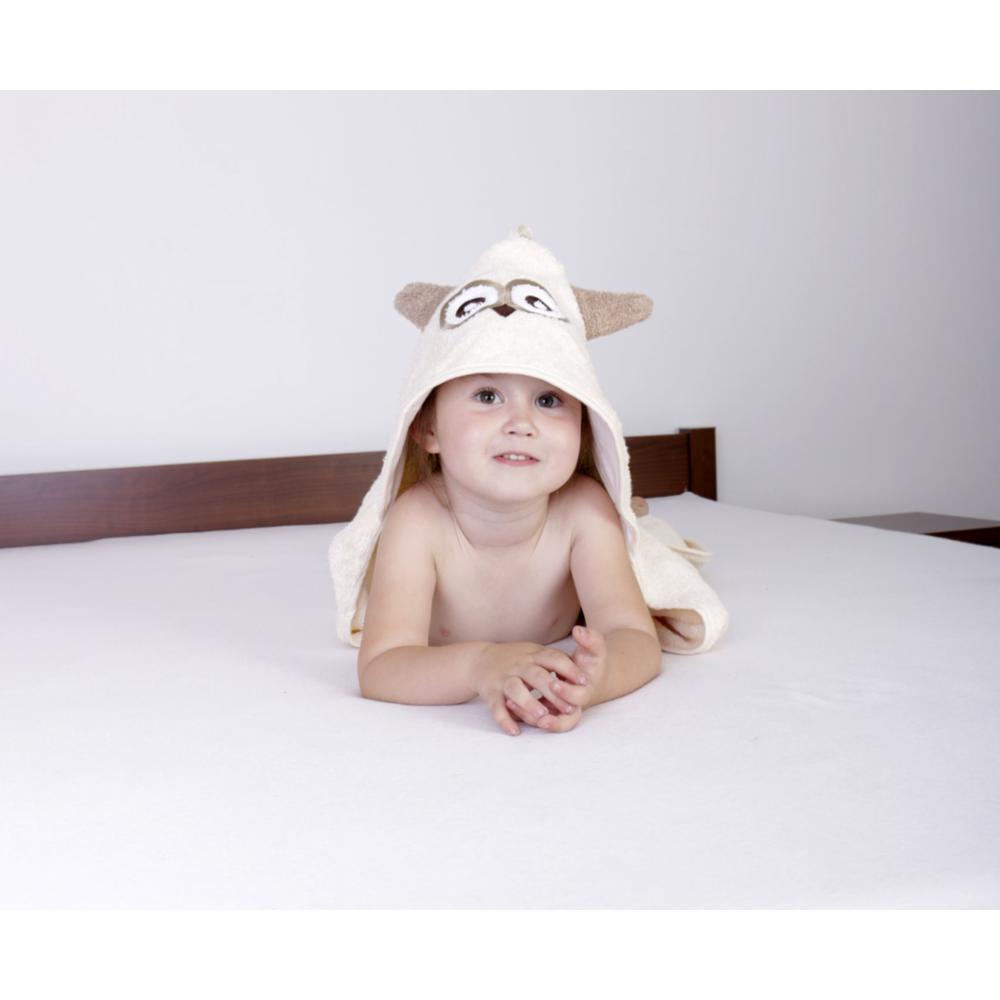 BabyMatex Jimmy Huppupyyhe 80*80cm, Beige