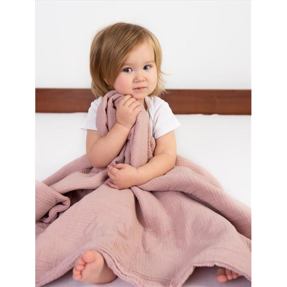 BabyMatex Muslin Huopa 75*100cm, Rosa