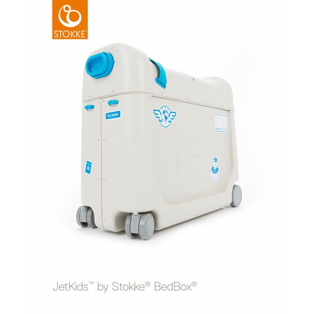JetKids Bedbox Matkalaukku, Sininen