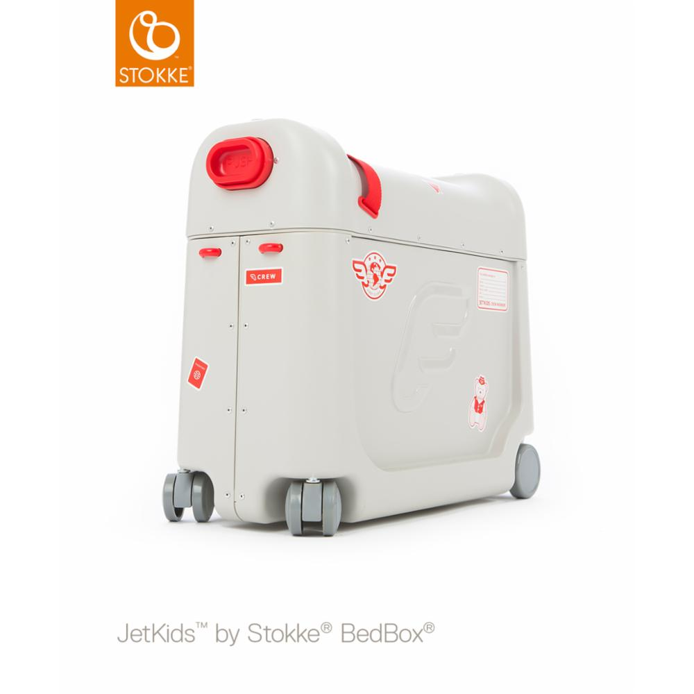 JetKids Bedbox Matkalaukku, Punainen