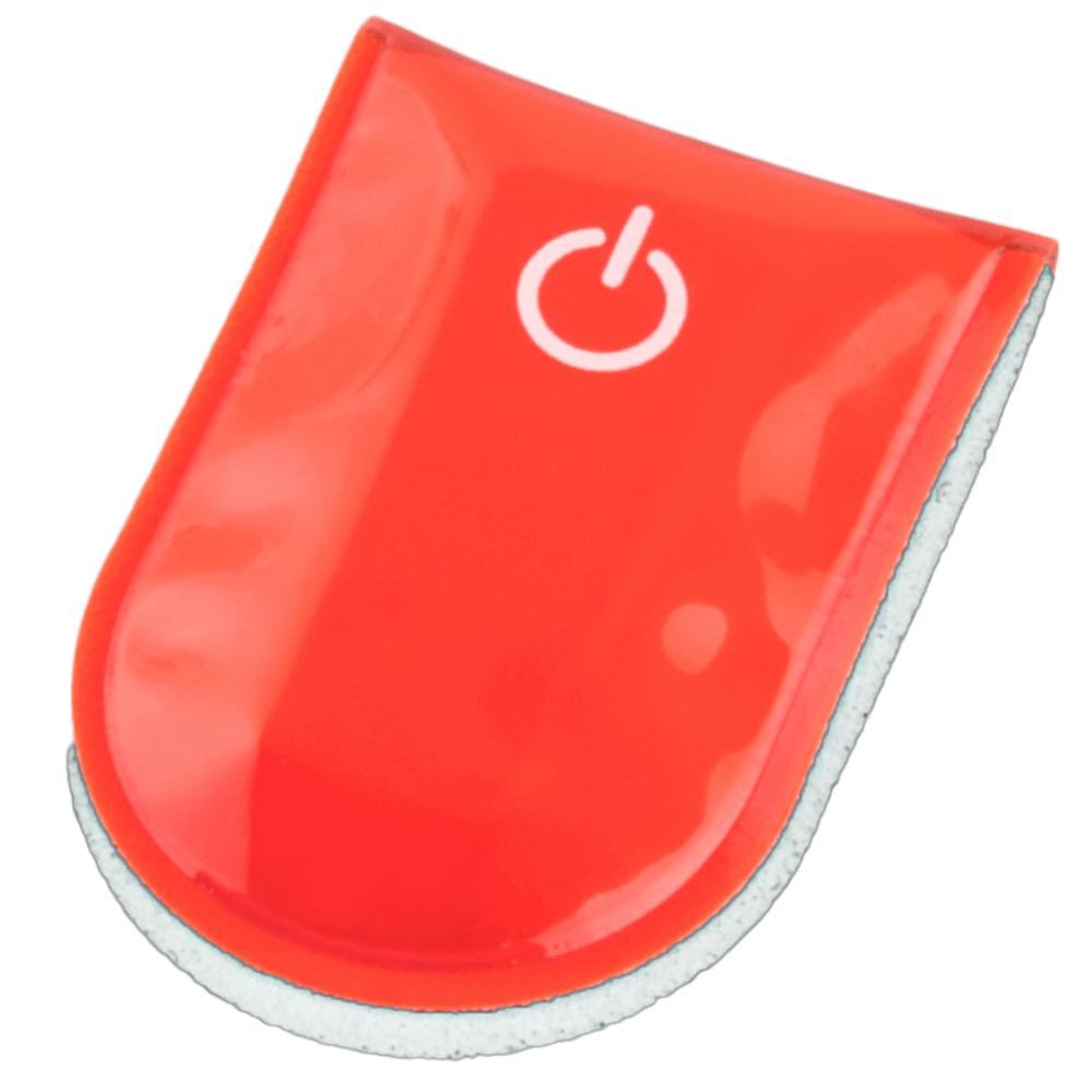 SafetyMaker LED Klipsivalo, Punainen