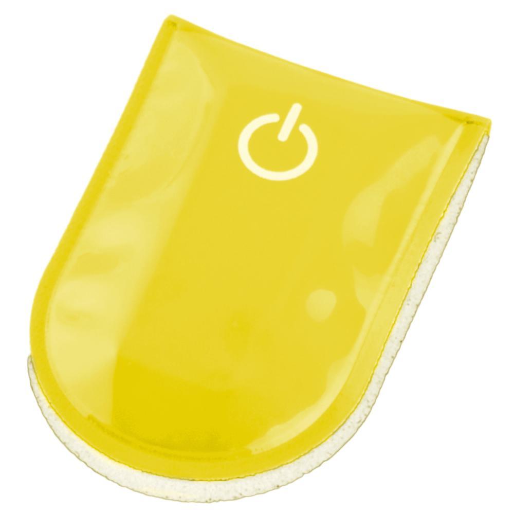 SafetyMaker LED Klipsivalo, Keltainen