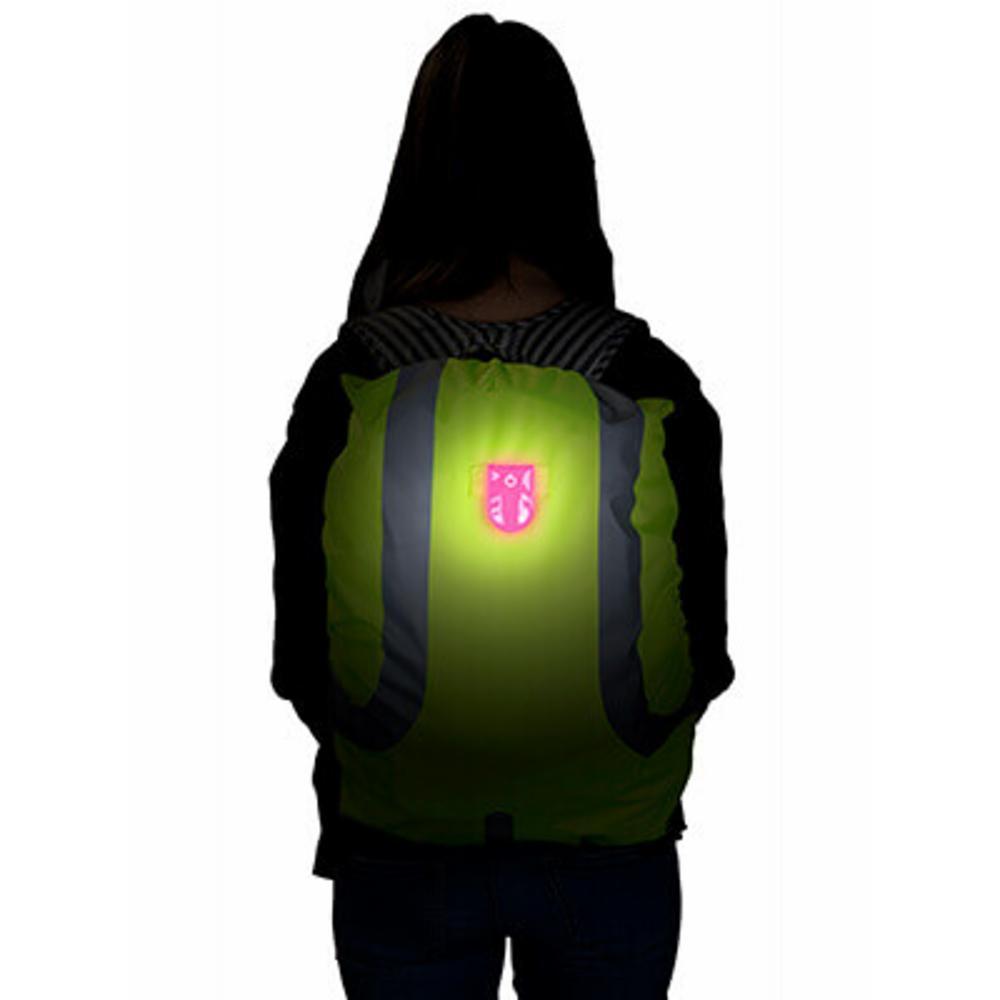 SafetyMaker LED Klipsivalo, Pinkki
