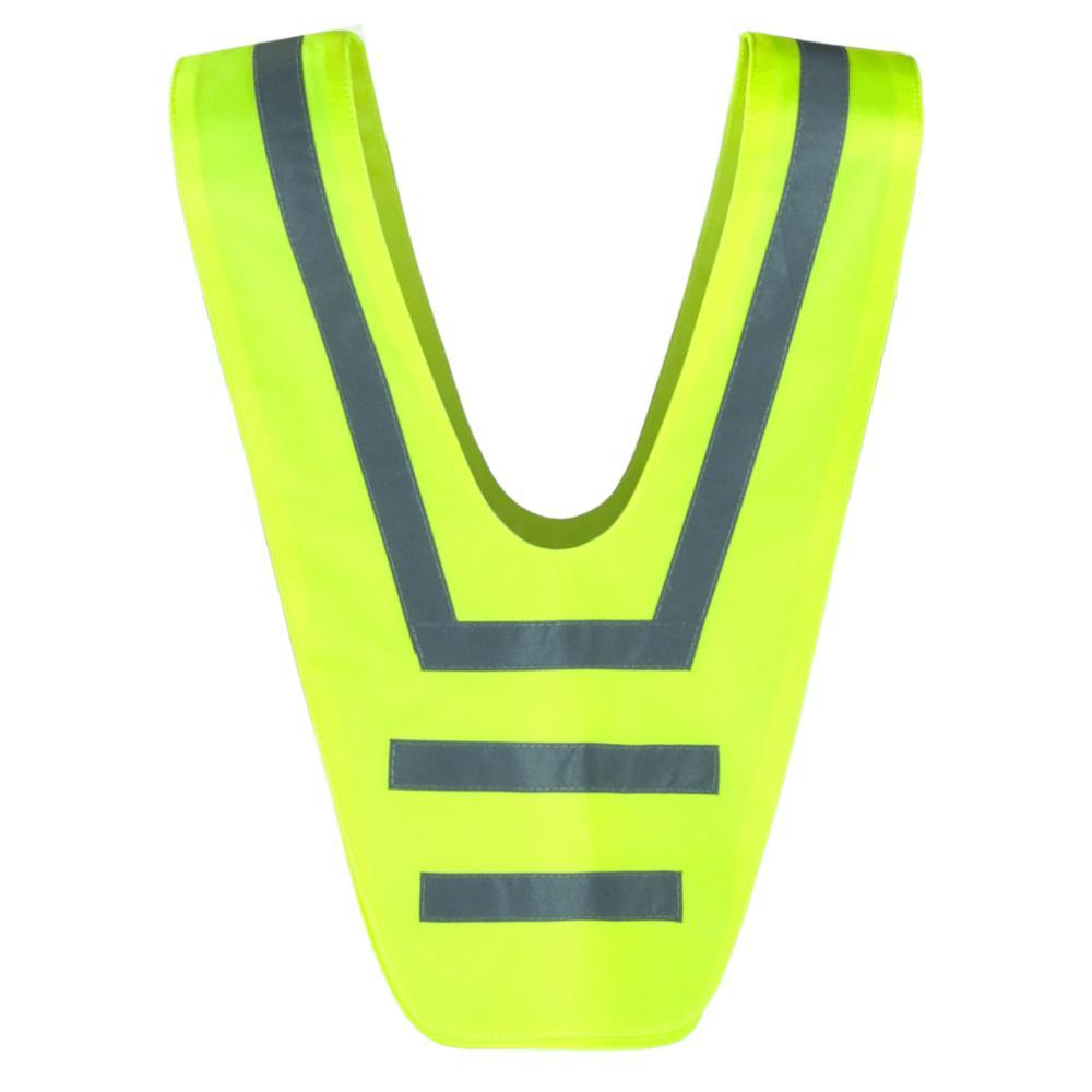 SafetyMaker Heijastinkauluri, Keltainen