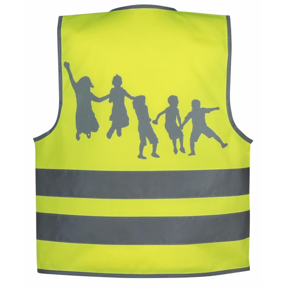 SafetyMaker Heijastinliivi 3-, Keltainen
