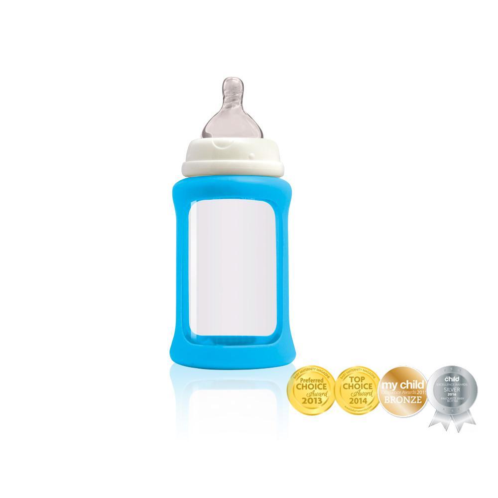 Cherub Baby Lasituttipullo WN 240ml, Sininen