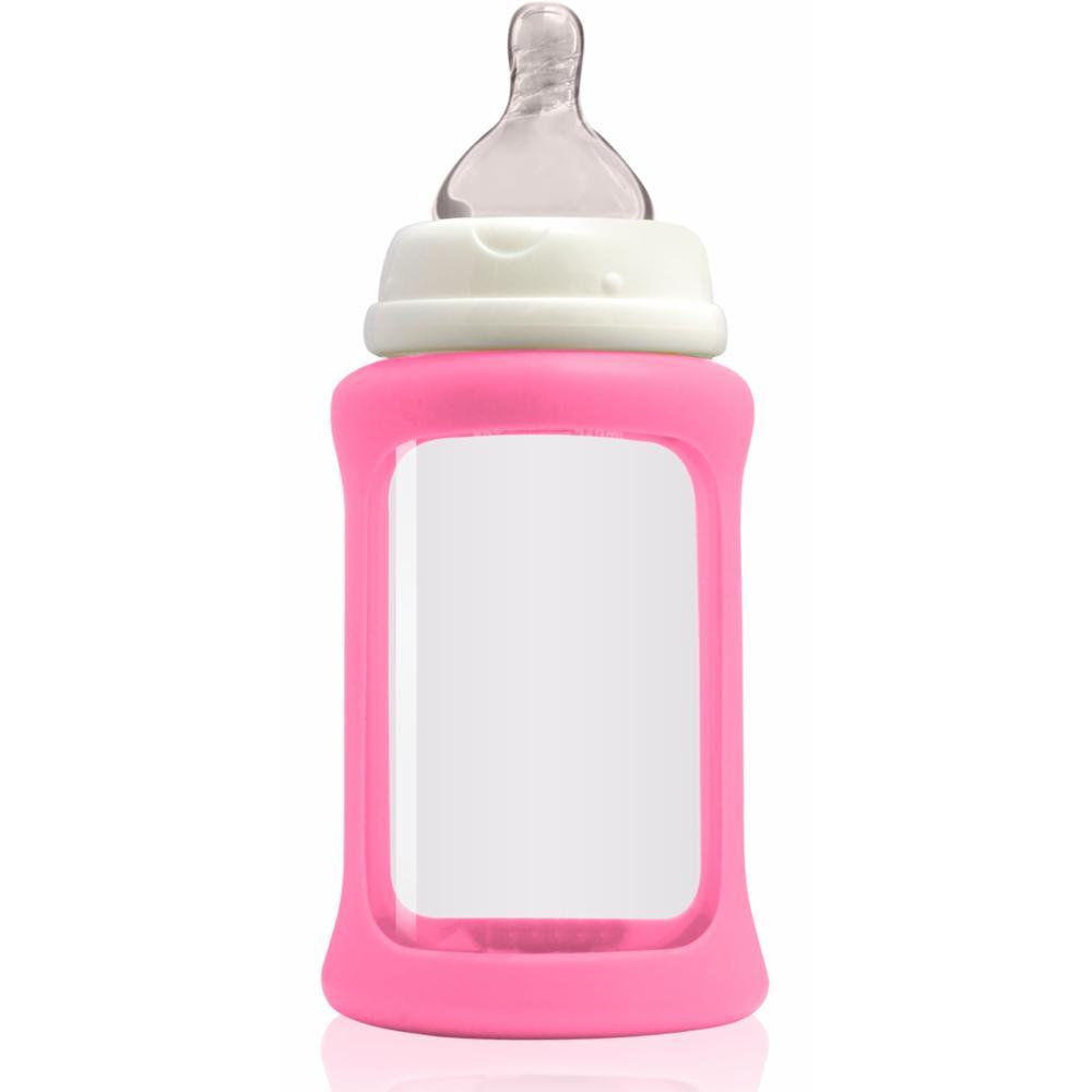 Cherub Baby Lasituttipullo WN 240ml, Pinkki