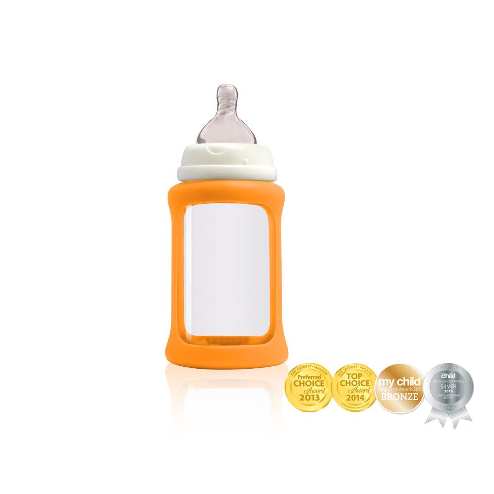 Cherub Baby Lasituttipullo WN 240ml, Oranssi