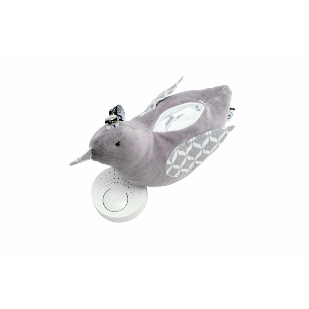 Whisbird rauhoittava unilelu, Harmaa