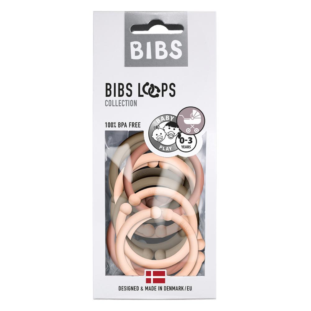 Bibs Loops 12, Peach/Woodchuck/Dark Oak