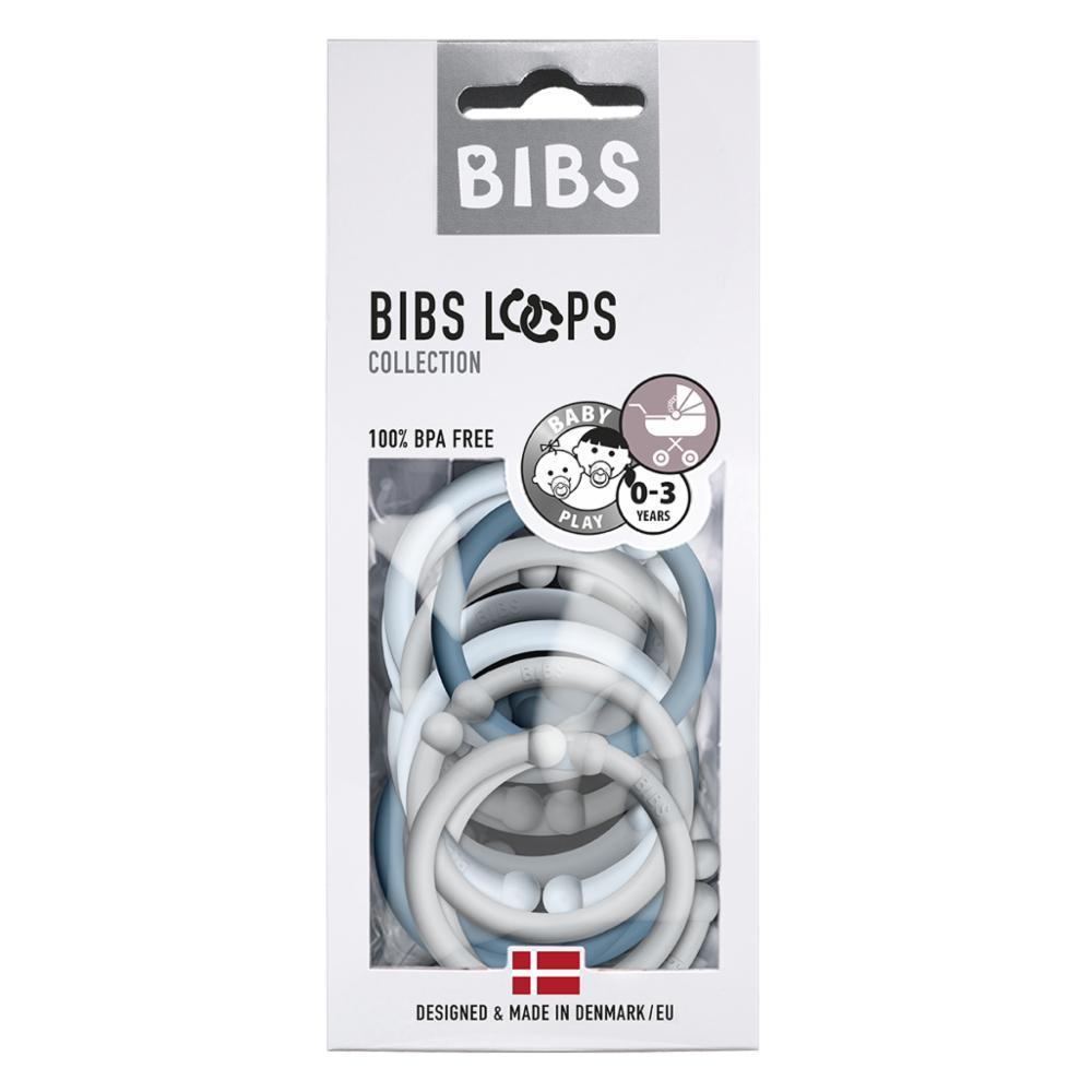 Bibs Loops 12, Cloud/Baby Blue/Petrol